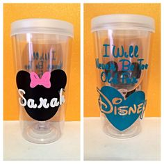 I Will Never Be Too Old For Disney Personalized To by cfoster1229, $10.00