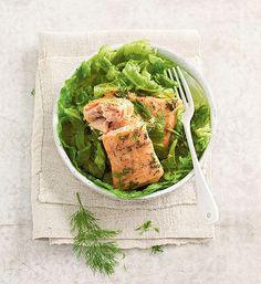 Rouleaux aux deux saumons et au chou vert