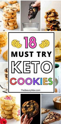 The ONLY Keto Cookie Recipes You Need! You have to taste them to believe them! These are the BEST keto cookie recipes — 20 easy keto cookies that are a must-try for anyone on a ketogenic diet! Low Carb Peanut Butter, Peanut Butter Cookie Recipe, Cookie Recipes, Dessert Recipes, Pudding Recipes, Lunch Recipes, Casserole Recipes, Keto Friendly Desserts, Low Carb Desserts