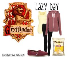 Lazy Day by sad-samantha on Polyvore featuring Sexy By Sweden, Vince and TOMS