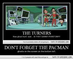 Pacman don't matter! IT'S DANNY PHANTOM!!!