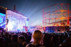 Flow Festival Main Stage 2014 by Samuli Pentti.