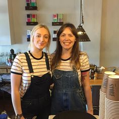 Double trouble down at Camperdown oval. Come get served by the classiest staff around! #hospitality #storeespresso #camperdown by storeespresso