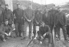 Sugarite Miners (Courtesy of Arthur Johnson Memorial Library)