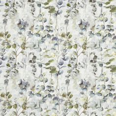 A modern take on timeless florals, Reflections is a beautiful combination of impressionistic prints and flowing embroideries complemented by tactile weaves and jacquards. Floral Fabric, Floral Motif, Curtain Fabric, Curtains, Stuart Graham, Prestigious Textiles, Stunning Wallpapers, Fabric Suppliers, Garden Inspiration