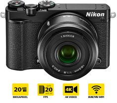 Take the Click: Nikon 1 J5 cattura filmati 4k a 15fps
