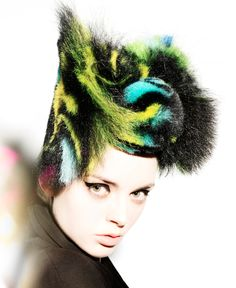 "UK Hairdresser of the Year, master stylist Angelo Seminara for Trevor Sorbie, ""Sushi Collection"" http://www.hji.co.uk/blogs/2008/06/angelo-seminara-creates-hair-s.html"