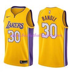 d3c12560fbd Los Angeles Lakers Trikot Herren 2018-19 Julius Randle 30# Icon Edition  Basketball Trikots NBA Swingman