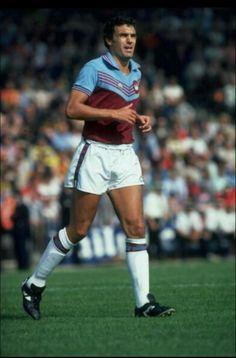 The Legend Trevor Brooking, West Ham United Football Club.