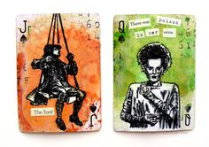 by DeeDee Catron: Altered Playing Cards {VLVS Swap}
