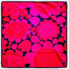 """""""Rapsodi"""" retro fabric designed by Ritva Wahlström/Borås Cotton in Sweden."""