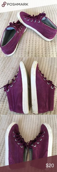 Purple Nikes Good condition. White areas are a little dirty but not too bad. Nike Go Chukka. Nike Shoes Sneakers