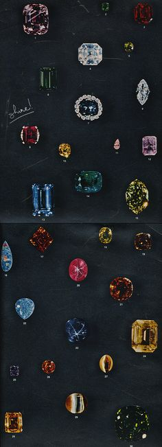 what a lovely selection of stones...makes us very excited about incorporating more sparkle into ELK Jewelry