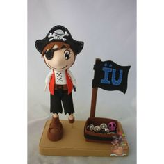 Mini Fofucho Pirata - El galeón de Manila