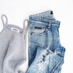 fashion, jeans, and outfit-bild