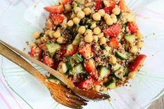 Angie's Recipes . Taste Of Home: Quinoa, Chickpea and Strawberry Salad with Sundried Tomato Vinaigrette