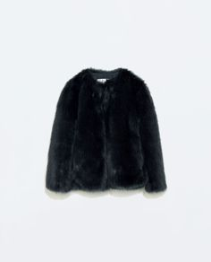 Image 6 of FUR JACKET from Zara