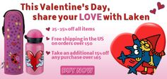 This Valentine's Day, share your love with Laken. Cheaper International Shipping, Now Only $10! • 25-35% off all items • Take an additional 15% off any purchase over $65 BUY HERE: http://www.lakenusa.com/category_s/1890.htm?Click=246  #valentinesday #valentinesday2014 #LOVE #Laken #Kukuxumusu