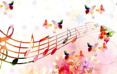 Wallpaper Music Notes
