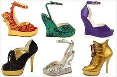 terry de havilland platform shoes, 1970s
