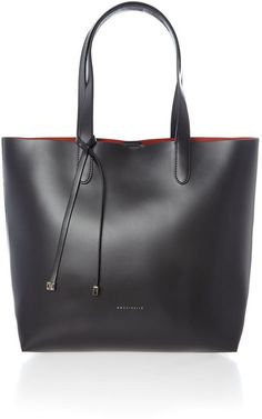 6ad08ede5d027 Coccinelle Black north south tote bag on shopstyle.co.uk Black Leather Bags