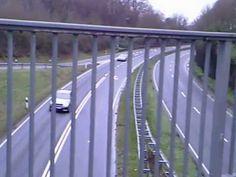 Bridge at a highway - Deinsuppenhuhn