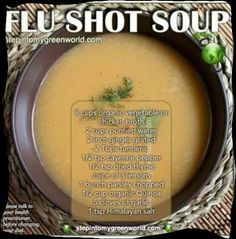 Natural Remedies For Sinus Flu shot soup Soup Recipes, Cooking Recipes, Healthy Recipes, Healthy Foods, Recipies, Chili Recipes, Free Recipes, Cough Remedies For Adults, Healing Soup