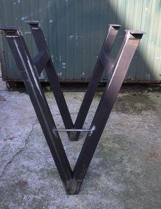 1000 images about pieds de table en acier brut on - Table pied acier ...