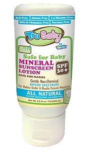 TruBaby Everyday Play Mineral Sunscreen, SPF 30 | EWG's Skin Deep® | 2012 Sunscreen Report