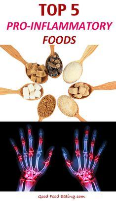 Top 5 Pro-Inflammatory Foods