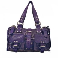 Canvas & leather Mulberry Roxanne