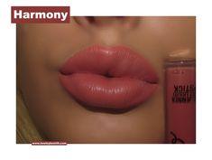 Kylie Velvet Liquid Lipstick in Harmony Swatch. Click pic for full post