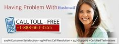 Hushmail Customer Service Number 1-888-664-3555 provides best Hushmail support services. Don't waste your time Dial hushmail technical support number.