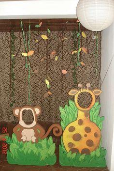 Photo 26 of 32 jungle animals Birthday Primer a o de Manuel David Catch My Party Safari Party, Jungle Theme Parties, Jungle Theme Birthday, Safari Birthday Party, Animal Birthday, First Birthday Parties, Party Animals, Animal Party, Jungle Animals