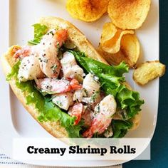 This sandwich is the no-fuss answer to a traditional lobster roll—and it packs plenty of flavor, with succulent shrimp tossed in a zingy mix of mayo, whole-grain mustard, French-style pickles and (the secret kicker) a bit of the pickle brine. Get the recipe.