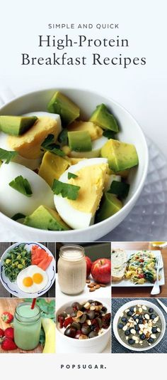 If you are looking to lose weight or get more protein in your diet, a healthy breakfast is a must. These quick breakfast recipes take under 10 minutes to prep, and contain at least 15 grams of protein.