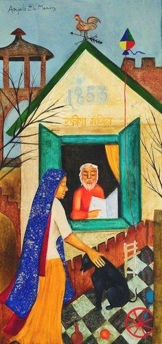List Of Anjolie Ela Menon S Paintings
