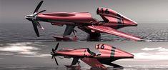 Schneider Trophy seaplane concept 2030 by Vincent Schmid - cars concept - 01011532129263.571521c45473e