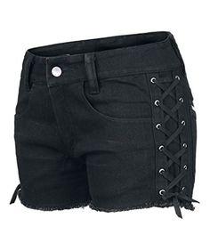 Dressation Womens Street Punk Side Lace Up Shorts Jeans P... https://www.amazon.com/dp/B01EXINLCI/ref=cm_sw_r_pi_dp_vr6JxbFX4QN4H