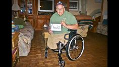 These kind Lowe's employees took the time to help this Veteran when the VA would not. Now this Vietnam Veteran has a wheelchair that is as good as new. Home Improvement Center, Department Of Veterans Affairs, Vietnam Vets, Elderly Home, Humanity Restored, Pictures Of People, Healthy People 2020 Goals, Faith In Humanity, Lowes Home Improvements