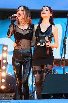 Lisa Origliasso and Jessica Origliasso..
