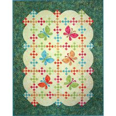 Butterfly Breeze Quilt Pattern by Quilting Time | Pattern & Book