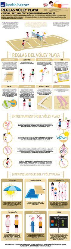 5 normas basicas del voleibol