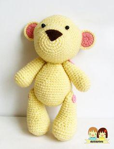 Mr. Teddy AmiGurumi pattern.