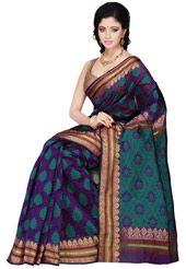 Purple Art Silk Saree with Blouse.  PREEEEETTTYYYYY!!!!