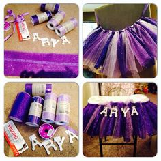 Easy to make tutu for highchair! be prepared I'm in the mood to make her tons Sofia The First Birthday Party, Pink And Gold Birthday Party, Baby Girl First Birthday, Frozen Birthday Party, Birthday Diy, Birthday Ideas, Zendaya Birthday, Birthday Highchair, Diy Tutu