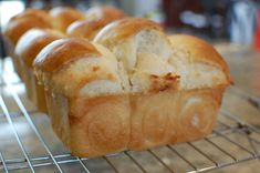 Chinese Coconut Milk Buns Recipe - I love getting these from bakery :). Must try.  I need to try this as my favorite Chinese Bakery in San Diego was out last Sunday;-  (