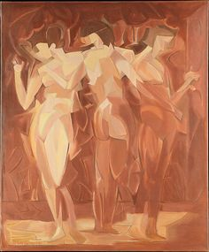 'Meeting (The Three Graces)' by Manierre Dawson, 1912