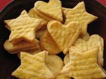 Caramel Sandwich Cookie Recipe - Sables au Caramel- Moroccans cut these cookies into petite shapes or rounds, making them elegant enough for tea time or special occasion spread