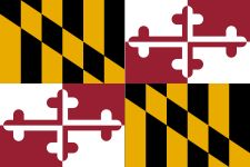 Find details and a picture of the Maryland Flag. Maryland state flag bears the arms of the Calvert and Crossland families. Billie Holiday, Flag Coloring Pages, Jeff Koons, 3d Warehouse, Chesapeake Bay, Arctic Monkeys, Swansea, Flag Design, Viajes